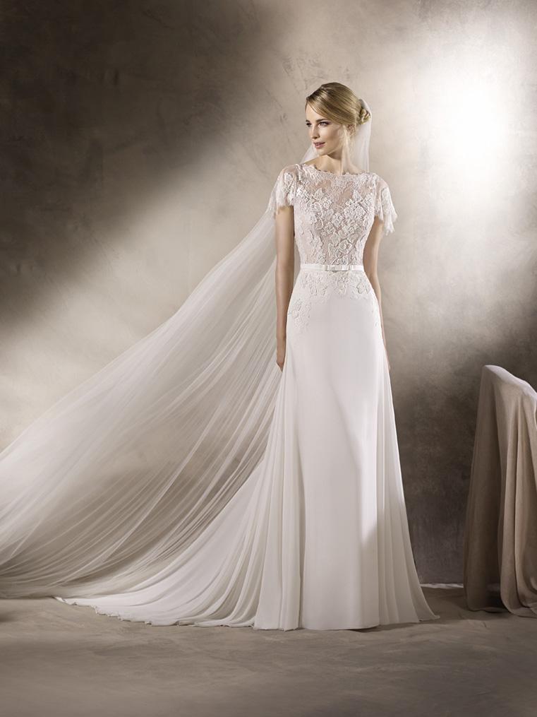 e7a38669d939 abito da sposa morbido pronovias