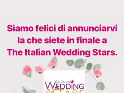Galvan Sposa finalista di<br>The Italian Wedding Stars