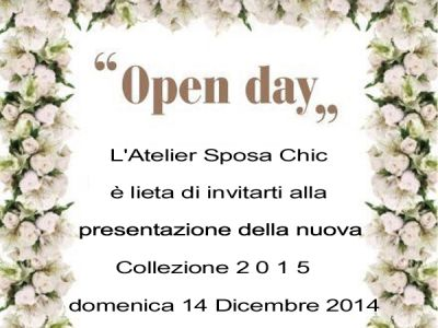OPEN DAY DA SPOSA CHIC A LECCE